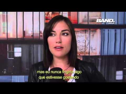 Agora é Tarde - Ex-atriz Pornô Sasha Grey Diz Que Tamanho Não é Documento - 21 08 13 video