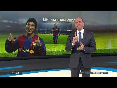 Ronaldinho futbolu bıraktı! -18 Ocak 201