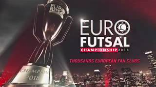 Teaser: Euro Futsal Championship 2018! Are You Ready?