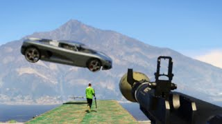 RPG vs SUPER CARS! (GTA 5 Online)