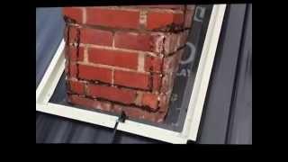 Standing Seam Metal Roof Chimney Flashing Installation
