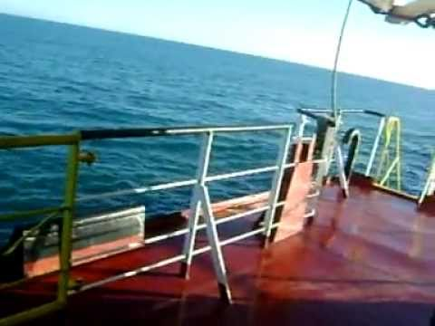 Life at Sea Working on a General Cargo Ship.wmv