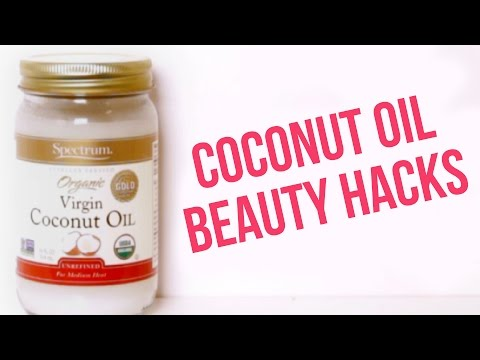 7 Beauty Products You Can Replace With Coconut Oil