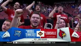 Louisville Cardinals vs Middle Tennessee | NIT 2018-3-18 (Full Game) ᴴᴰ