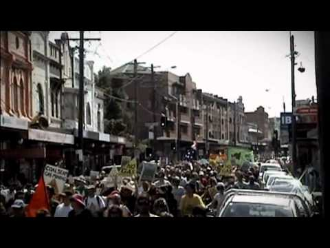 Public Rally against Coal Seam Gas held on 18/09/2011 in Newtown, Sydney, Australia