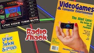CGQ Flashback Ep. 21 - The Atari Lynx (and more Radio Shack)
