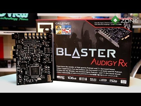 OverclockZone TV EP.415 : Creative Sound Blaster Audigy Rx (HD)