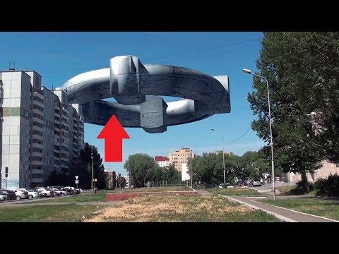 Шок! НЛО десант в Подмосковье - видео очевидцев 2017 (UFO)