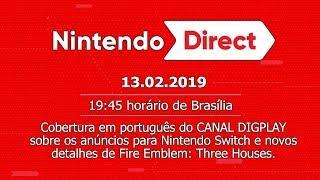 Nintendo Direct 13.2.2019 | Cobertura do CANAL DIGPLAY