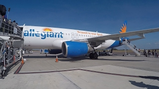 My FIRST Time Flying With Allegiant! | Takeoff From St. Petersburg, FL