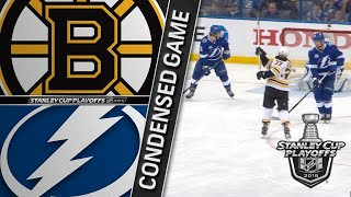 04/28/18 Second Round, Gm1: Bruins @ Lightning