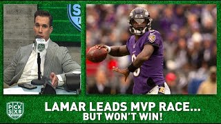 Lamar Jackson leading MVP race but Russell Wilson WILL WIN I Pick Six Podcast
