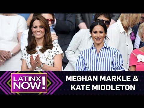 Are Meghan Markle & Kate Middleton Feuding? | Latinx Now! | E! News