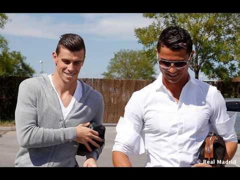 Gareth Bale meets Cristiano Ronaldo 11.09.2013