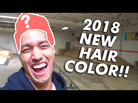 2018 MY NEW HAIR COLOR!!