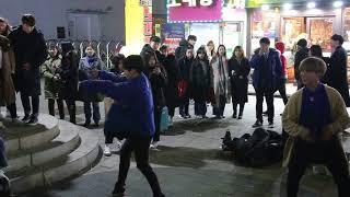 JHKTV]홍대댄스 디오비hong dae k-pop dance dob(ty hj) ko ko bop