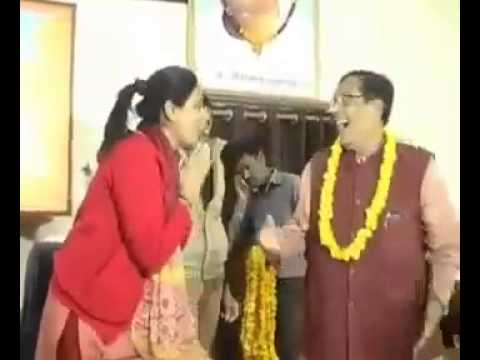 Indian Politician Misbehaves with woman in Public meet thumbnail