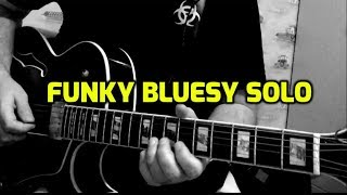 уроки импровизации на гитаре Funky bluesy solo2.wmv