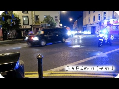 Joe Biden in Ireland!!