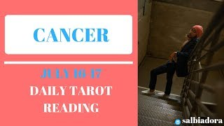 "CANCER - ""DO NOT WORRY, THE SUN IS COMING"" JULY 16-17 DAILY TAROT READING"