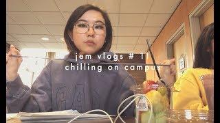 jem vlogs #11 - chilling on campus