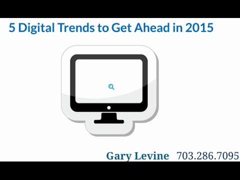 5 Digital Marketing Trends for 2015