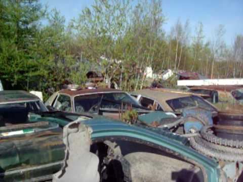 Dorval Car Parts scrapyard (Quebec)