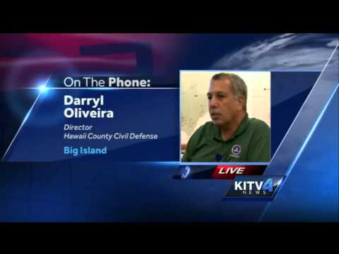 Hawaii County Civil Defense Director talks about the...