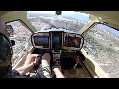 Here's a Cockpit view of landing my Flight Design CTLS on Runway 17 at the Jacqueline Cochran Regional Airport Thermal, CA.