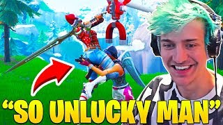 Ninja Can't Stop Laughing Watching Pro Players FAIL in Winter Royale! - Fortnite FUNNY Moments