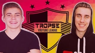 CACTUFEE VS HRGULD | OMGÅNG 1 - TROPSE YOUTUBE LEAGUE | Fifa 17 på svenska!