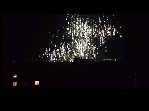 'White rain': Donetsk residents record alleged phosphorus shelling