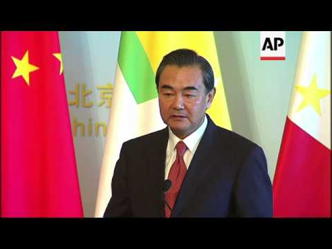 Chinese FM hosts foreign minsters from ASEAN  group