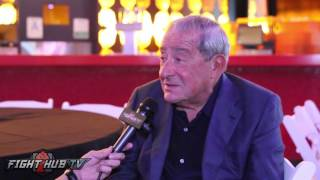 Bob Arum recalls the day Buster Douglas knocked out Mike Tyson