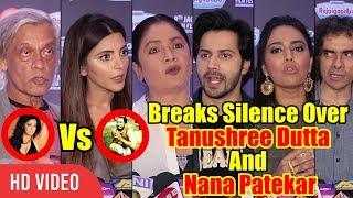 Bollywood Breaks Silence Over Tanushree Dutta & Nana Patekar Controversy | Varun, Swara, And Others