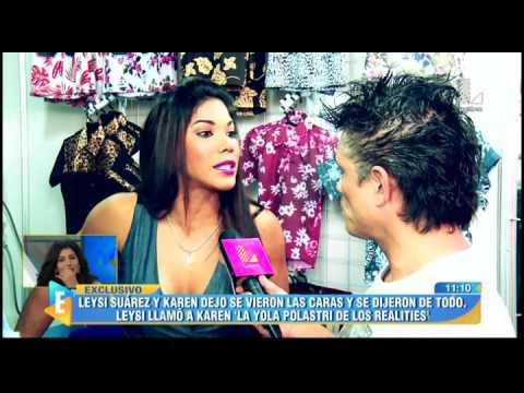 Karen Dejo Y Leysi Suárez Pasaron Incómodo Momento En Evento