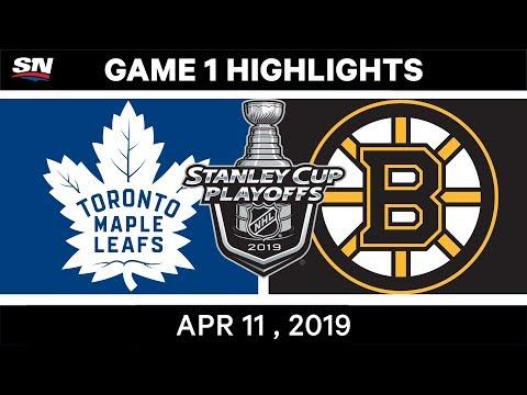 NHL Highlights | Toronto Maple Leafs Vs Boston Bruins, Game 1 - April 11, 2019
