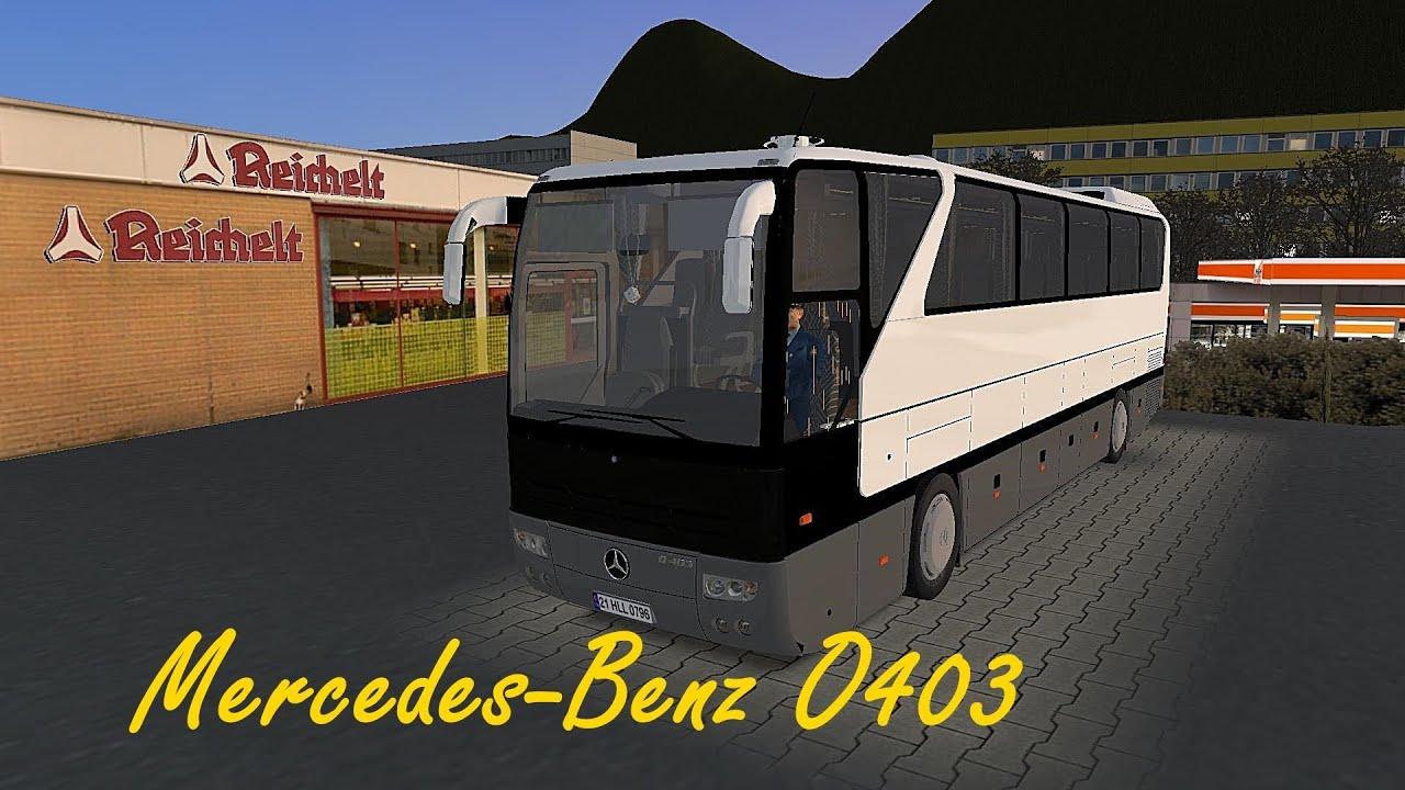 Omsi 2 Mercedes Benz O403 Dobel Youtube