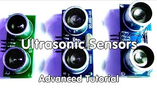 40 Ultrasonic Distance Sensors Arduino Tutorial an