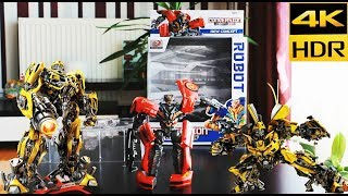 Transformers Toys Unboxing Robots From Car to Robot Optimus 4k play