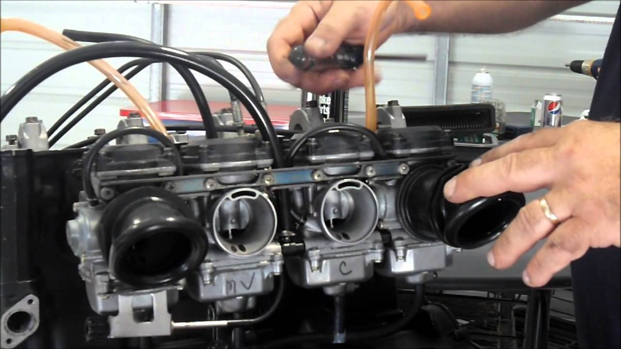 Carb Removal Concours ZG1000  YouTube