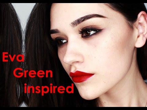 Eva Green inspired makeup