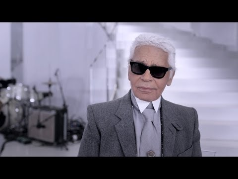 Interview with Karl Lagerfeld - Spring-Summer 2014 Haute Couture CHANEL show