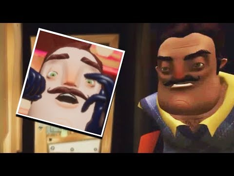 The Neighbor Reaction to Hello Neighbor Basement Trailer | Hello Neighbor