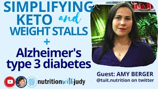 Simplifying Keto and Weight Stalls. Healing Food Addiction. Alzheimer's Type 3 Diabetes