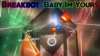 Breakbot Baby I 39 M Yours Played Well On Beat Saber