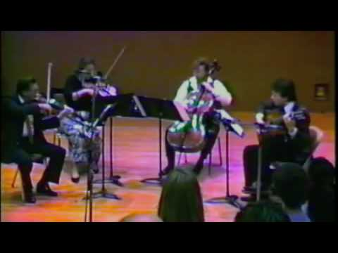 Robert Wetzel&Grossmont String Trio - Niccolo Paganini - Quartet No. 1 - I. Introduction&Allegro