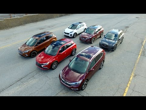 watch 2016 2017 Compact Suv Comparison Kelley Blue Book video