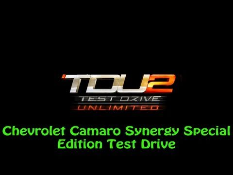 Test Drive Unlimited 2 PS3 - Chevrolet Camaro Synergy Special Edition Test Drive