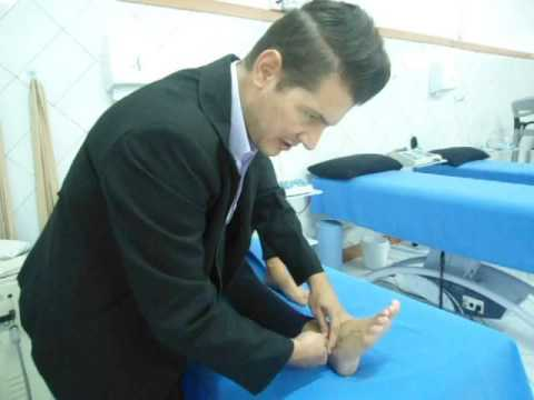 como tratar artrose no pé